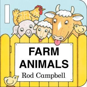 Farm Animal Shapes Buggy Book by Rod Campbell