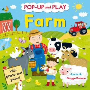 Pop-Up and Play Farm by Maggie Bateson