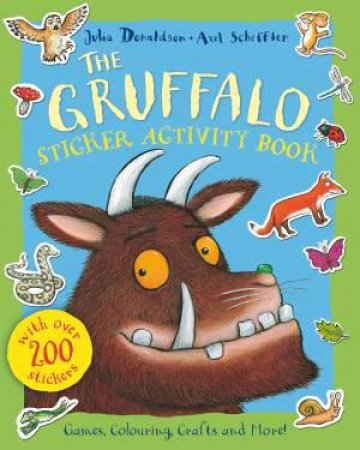 The Gruffalo Sticker Activity Book by Julia Donaldson