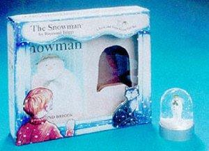 The Snowman Book & Snowglobe by Raymond Briggs