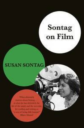 Sontag On Film by Susan Sontag