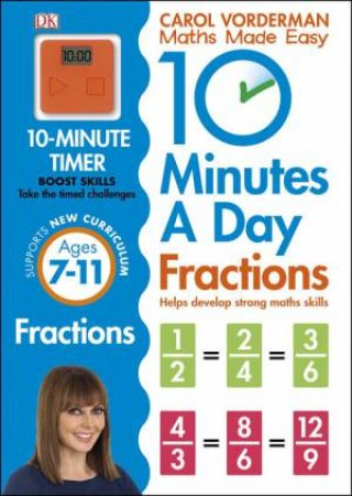 10 Minutes a Day: Fractions by Carol Vordeman