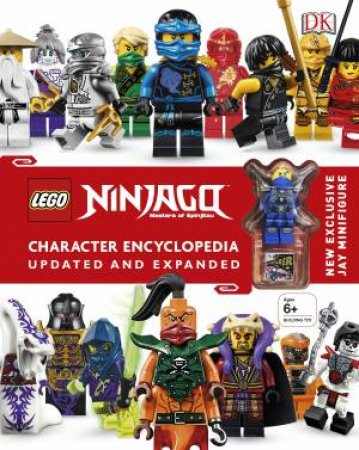 LEGO Ninjago: Character Encyclopedia (Updated Edition) by Various