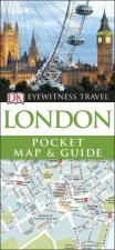 DK Eyewitness Pocket Map And Guide: London by Various