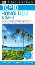 DK Eyewitness Travel Guide Top 10 Honolulu  OAhu