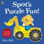 Spots Puzzle Fun PressOut And Play Book