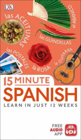 15 Minute Spanish by DK