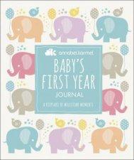 Annabel Karmel Babys FirstYear Journal A Keepsake of Milestone Moments
