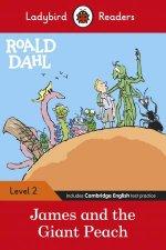 Roald Dahl James And The Giant Peach  Ladybird Readers Level 2