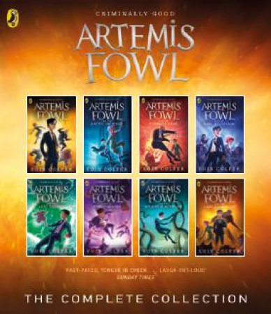 Artemis Fowl Books 1-8 Collection by Eoin Colfer