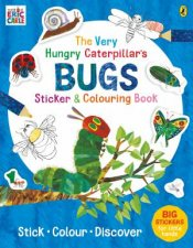 The Very Hungry Caterpillars Bugs Sticker And Colouring Book