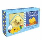 Spot Says Goodnight Book  Blanket