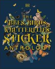 The Bees Birds  Butterflies Sticker Anthology