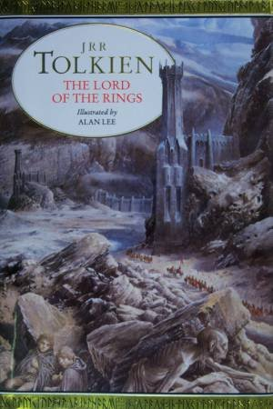 The Lord Of The Rings - Illustrated Hardcover Edition by J R R Tolkien