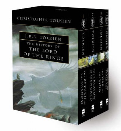 The History Of The Lord Of The Rings - Paperback Box Set by Christopher Tolkien