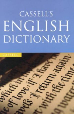 Cassell's English Dictionary by Various