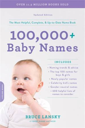 100,000 + Baby Names (Revised)