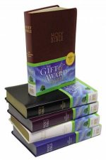 Bible: NIV UPD Gift & Award Bible - Blue Leatherlook by Various