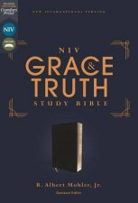 NIV The Grace And Truth Study Bible European Bonded Leather Red Letter Comfort Print Black