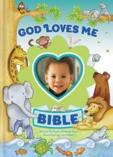 God Loves Me Bible: Newly Illustrated Edition Blue by Various