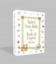 Babys First Bible And Book Of Prayers Gift Set
