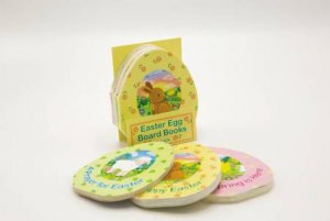 Easter Egg Board Books, 3 Pack by Emily Emerson