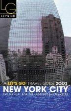 Lets Go City Guide New York City 2003
