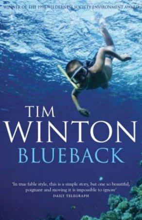Blueback tim winton online dating
