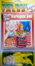 Bed Box Tales The Harlequin Doll  Book  Toy