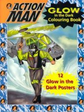 Action Man Glow Colouring Book