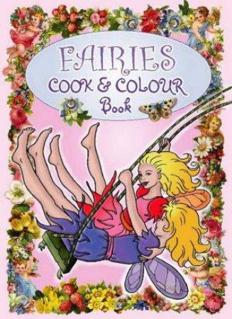 Fairies Cook & Colour Book by Various