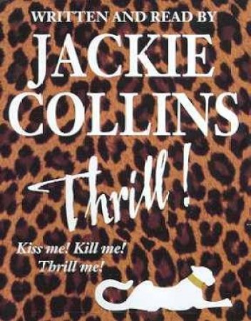 Thrill - Cassette by Jackie Collins