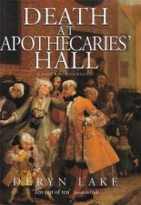 A John Rawlings Mystery Death At Apothecaries Hall