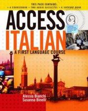 Access Italian Cassette Complete Pack