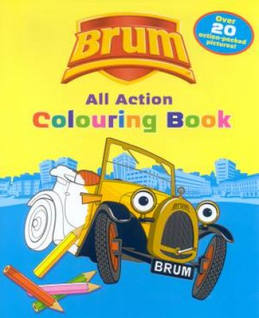Brum: All Action Colouring Book by Alan Dapre