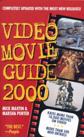 Video Movie Guide 2000 by Mick Martin & Marsha Porter