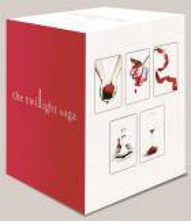 The Twilight Saga 5 Book Set (White Cover) by Stephenie Meyer -  9780349001326 - QBD Books