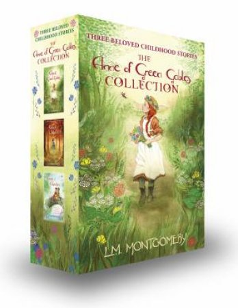 Anne of green gables book collection