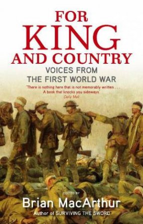 For King and Country by Brian MacArthur