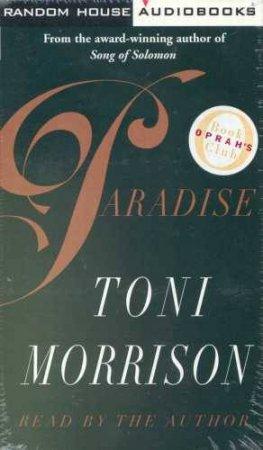 Paradise - Cassette by Toni Morrison