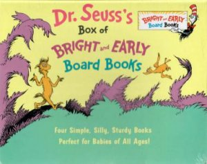 Dr Seuss's Box Of Bright And Early Board Books