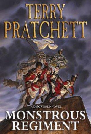 Monstrous Regiment by Terry Pratchett