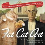 Fat Cat Art Famous Masterpieces Improved by a Ginger Cat with Attitude