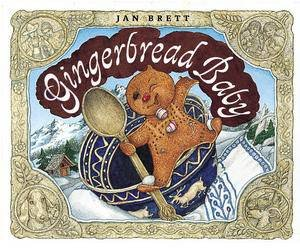 Gingerbread Baby Board Book by Jan Brett