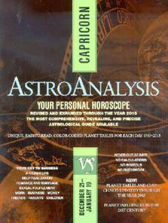 Astroanalysis: Capricorn by Various - 9780425175675 - QBD Books