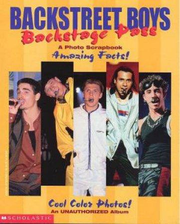 Backstreet Boys: Backstage Pass by Lauren Alison