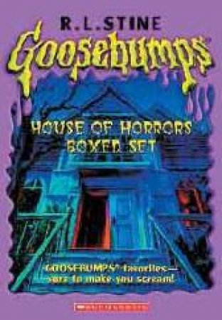Goosebumps Horrorland: Hall of Horrors - Box Set