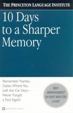10 Days To A Sharper Memory by Various