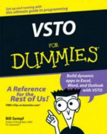 VSTO for Dummies by Bill Sempf