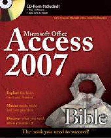 Access 2007 Bible - Book & CD